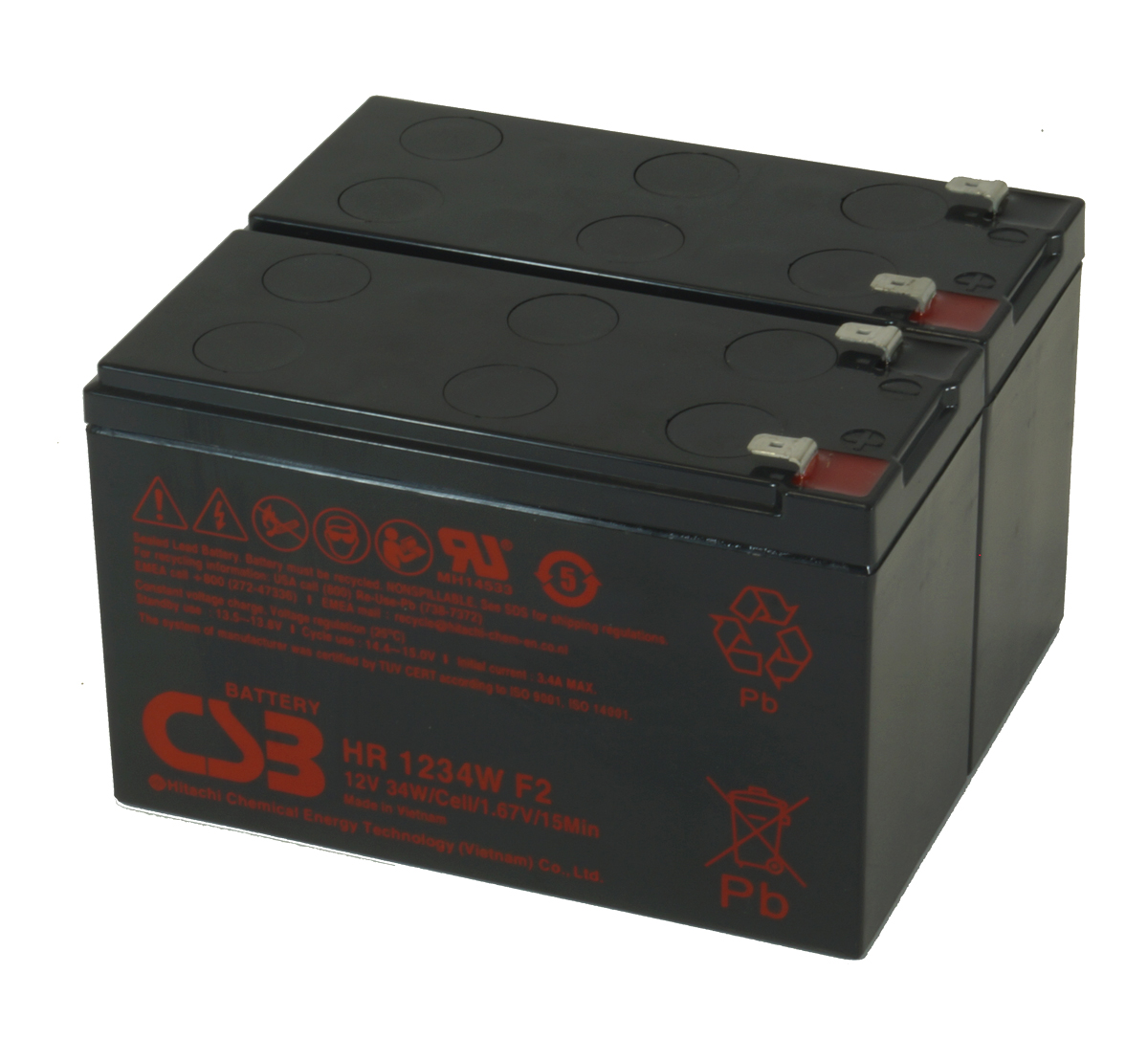 MDS2003 UPS Battery Kit for MGE AB2003