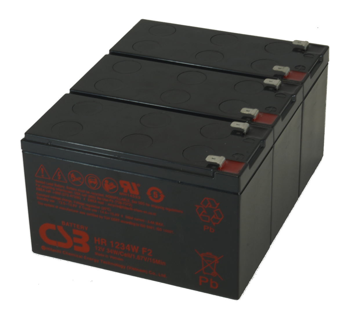 MDS2303 UPS Battery Kit for MGE AB 2303