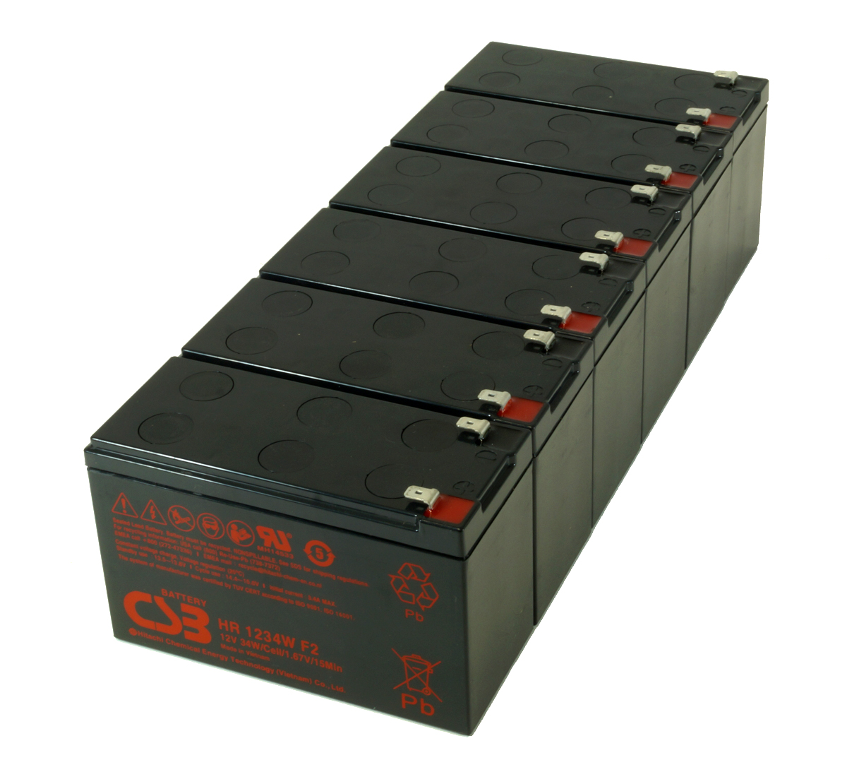Battery Kit for Delta Power Amplon N Series N-3K UPS