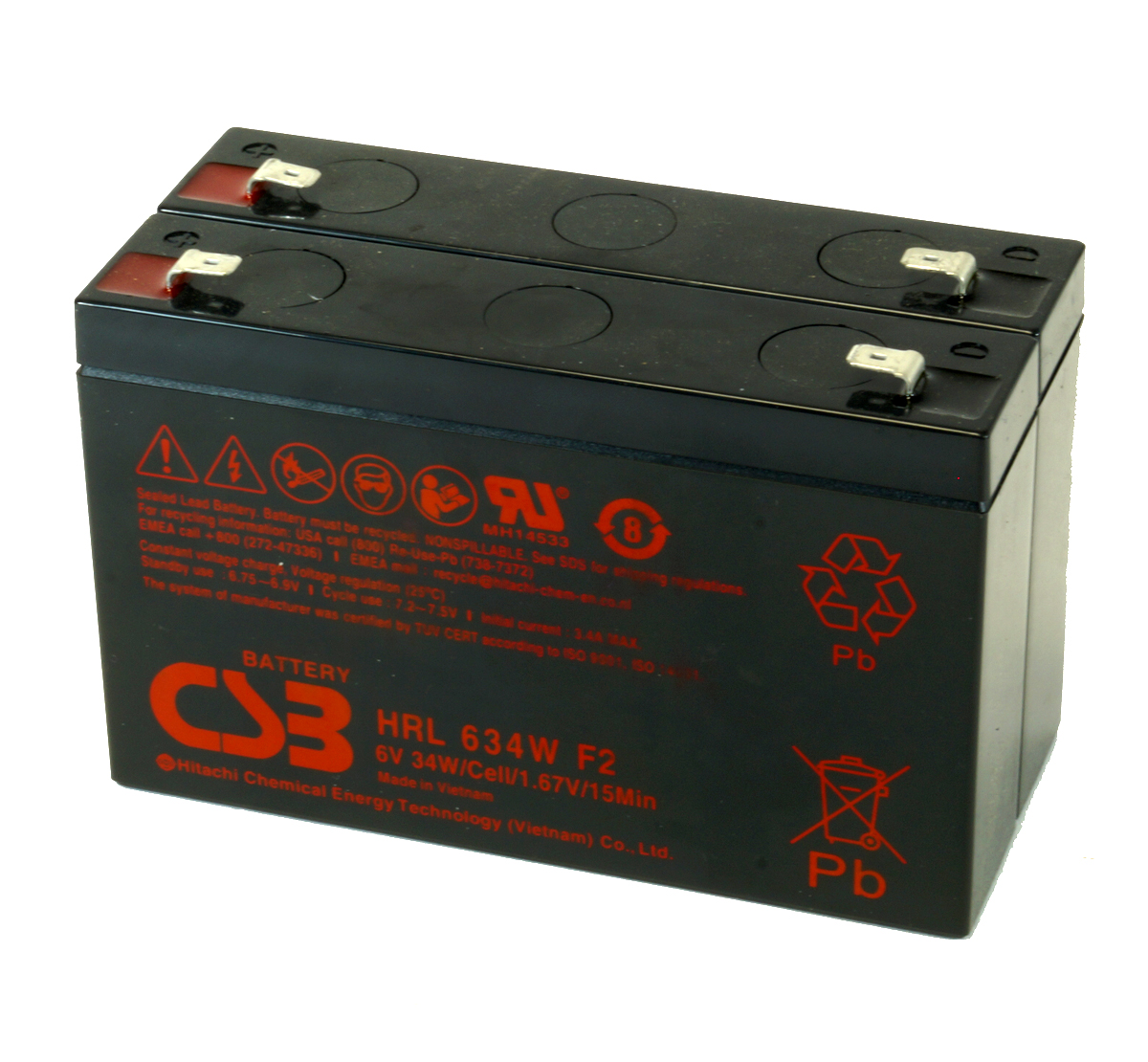 MDS2317 UPS Battery Kit for MGE AB2317