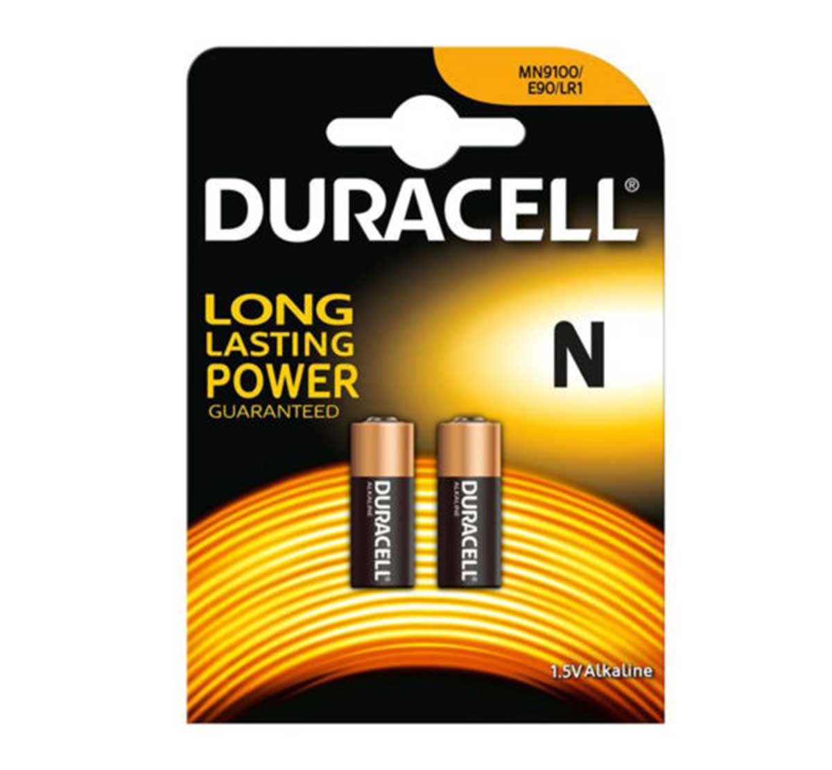 Duracell Batteries MN9100 N LR1 Battery Pack of 2
