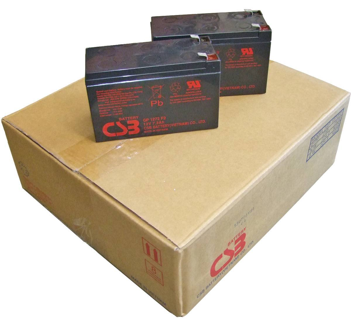 CSB GP1272F2 Pack of 12 Batteries