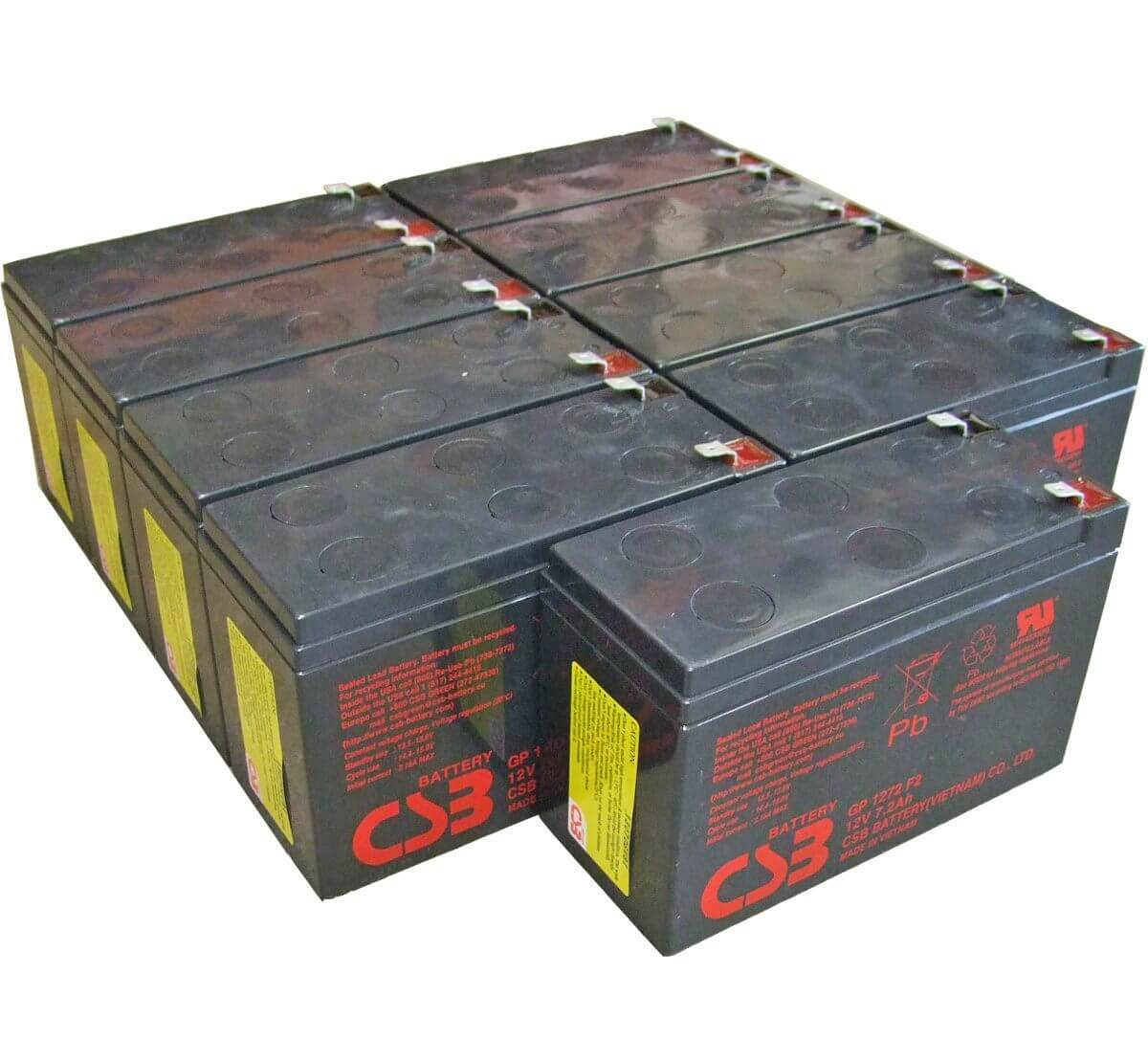 GP1272F2 Pack of 9 Batteries