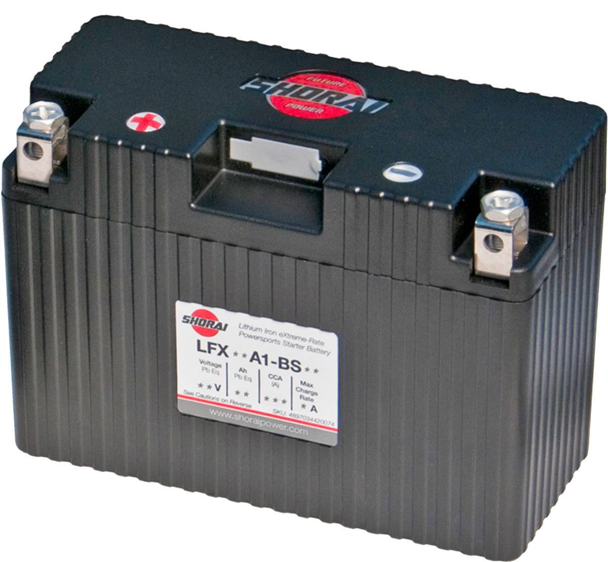 Shorai LFX14A1-BS12 12v 14Ah Lithium Battery