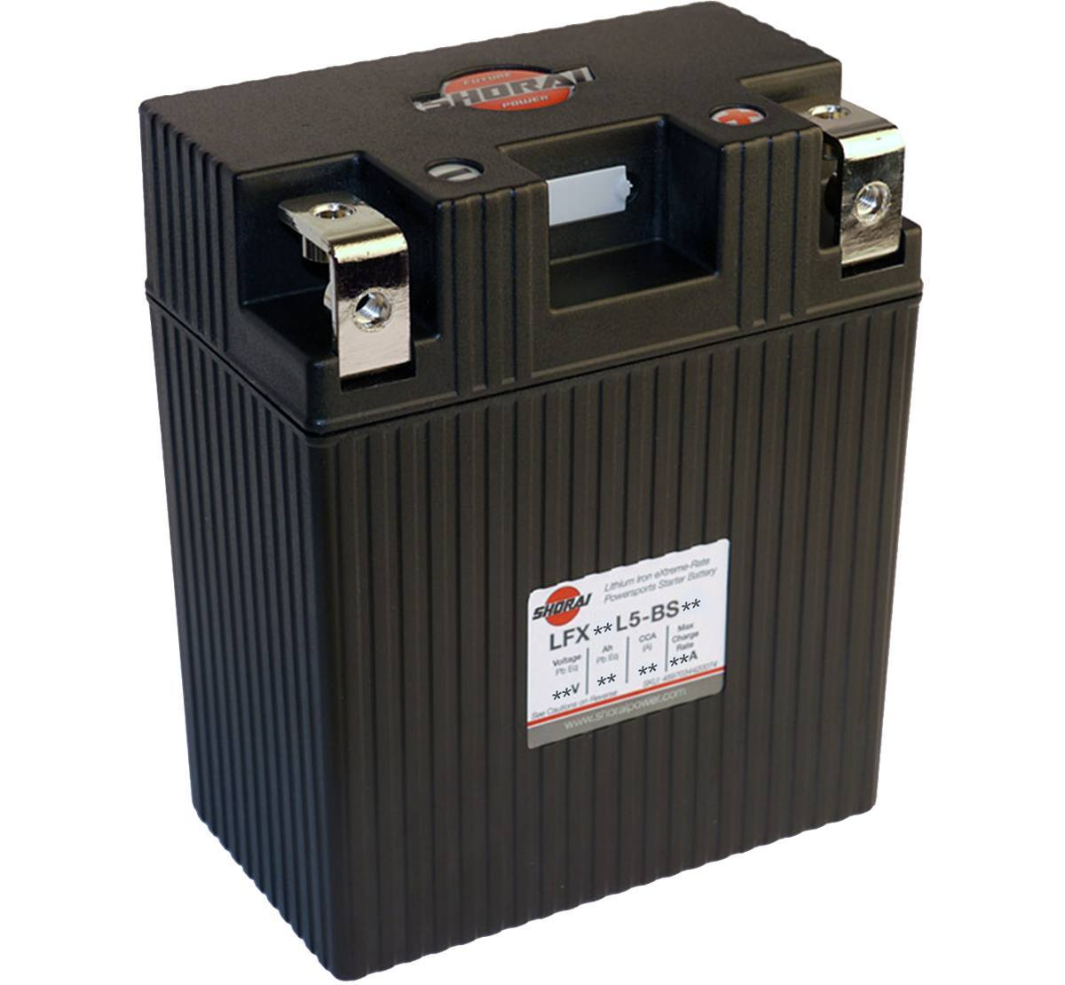 Shorai LFX14L5-BS12 12V 14Ah Lithium Battery