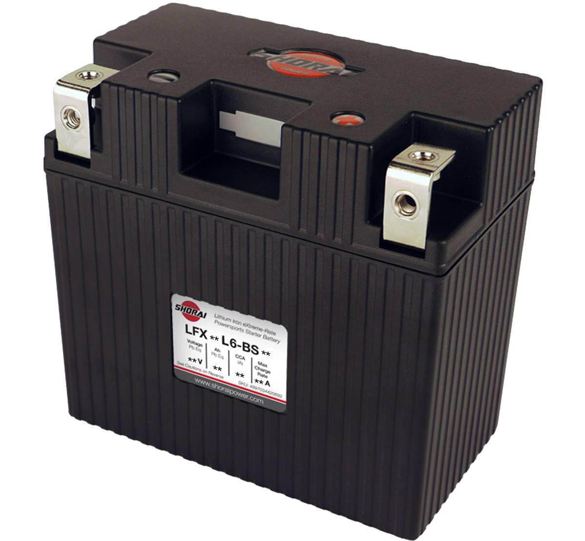 Shorai LFX21L6-BS12 12v 21Ah Lithium Battery
