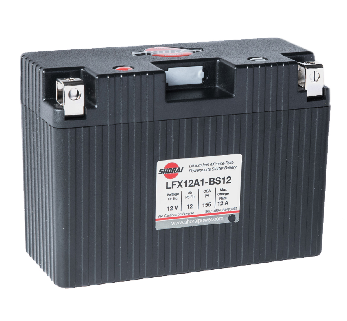 Shorai LFX12A1-BS12 12V Lithium Battery