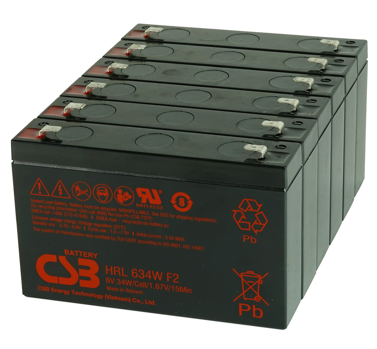 MDS1010 UPS Battery Kit for MGE AB1010