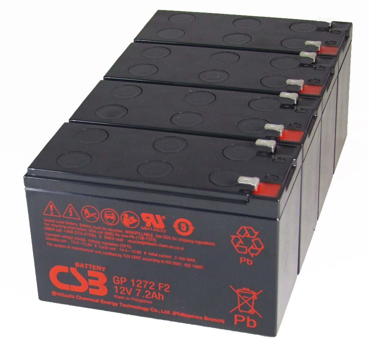 MDS116 UPS Battery Kit - Replaces APC RBC116