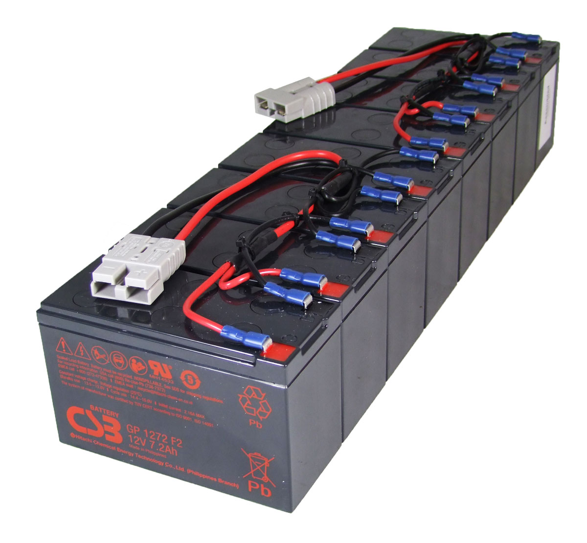 MDS12 UPS Battery Kit - Replaces APC RBC12