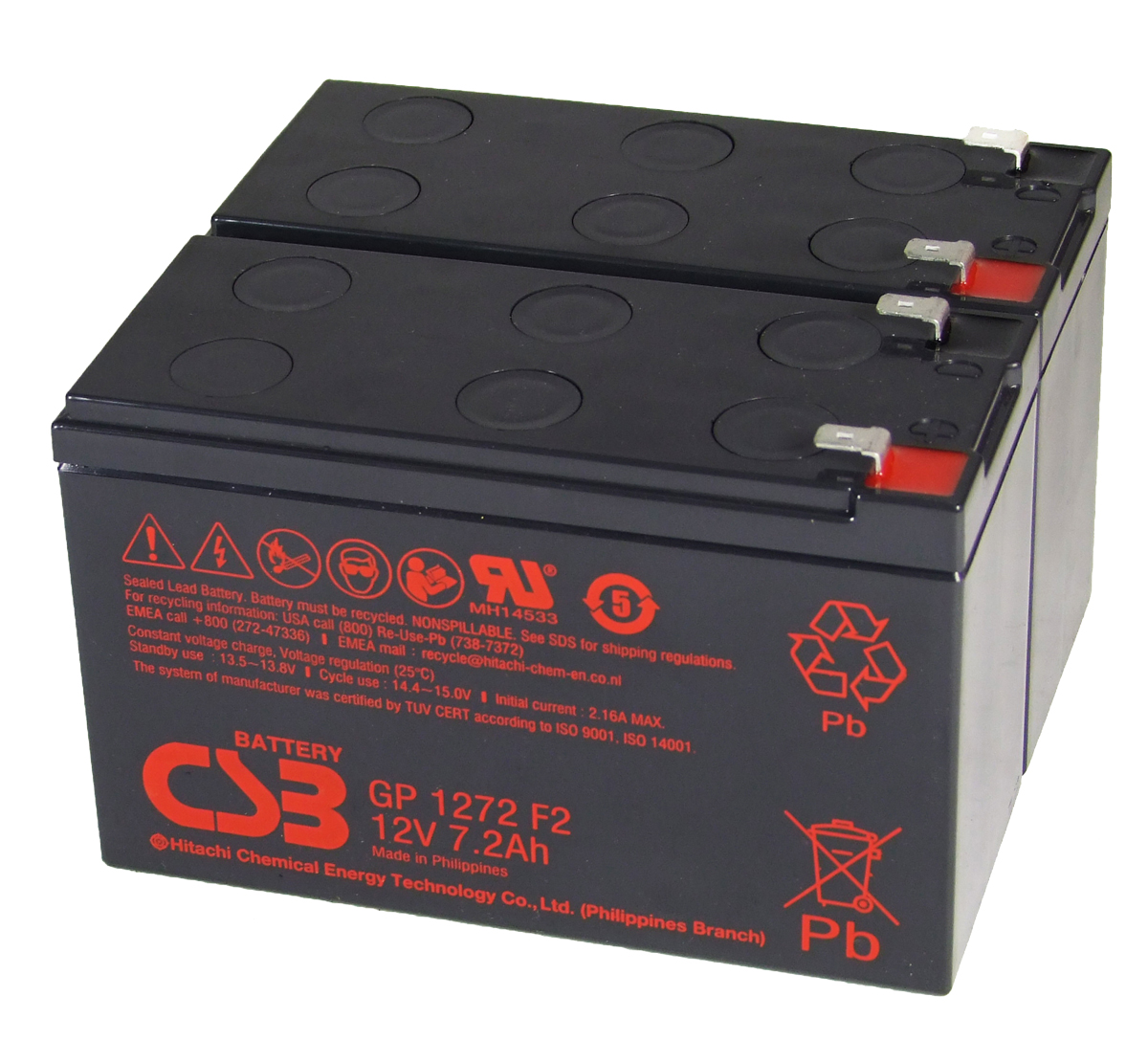MDS113 UPS Battery Kit - Replaces APC RBC113