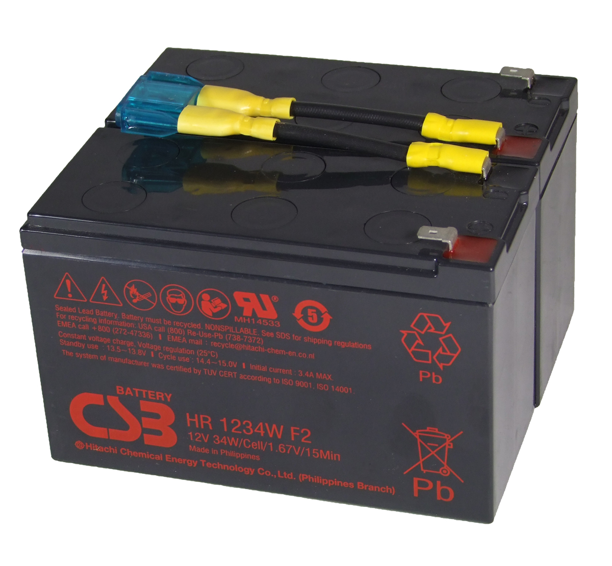 MDS142 UPS Battery Kit - Replaces APC RBC142