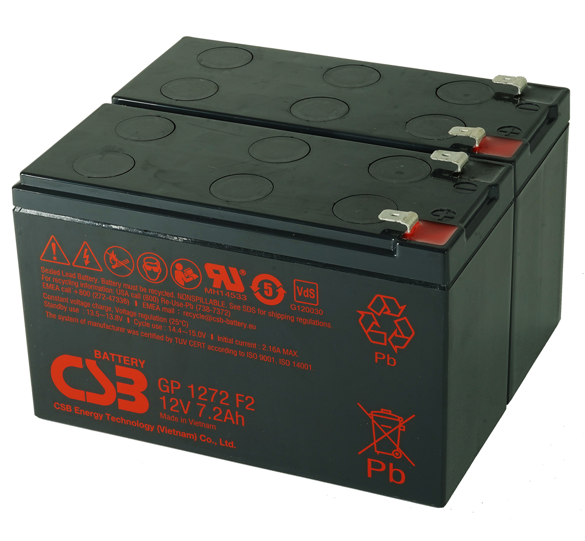 MDS2202 UPS Battery Kit for MGE AB2202