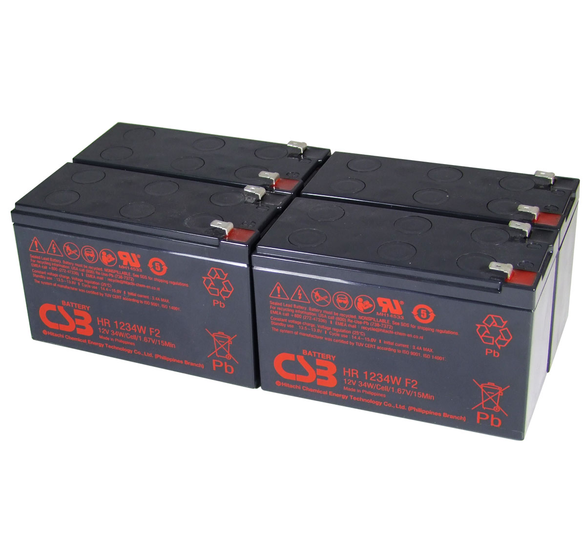 MDS24 UPS Battery Kit - Replaces APC RBC24