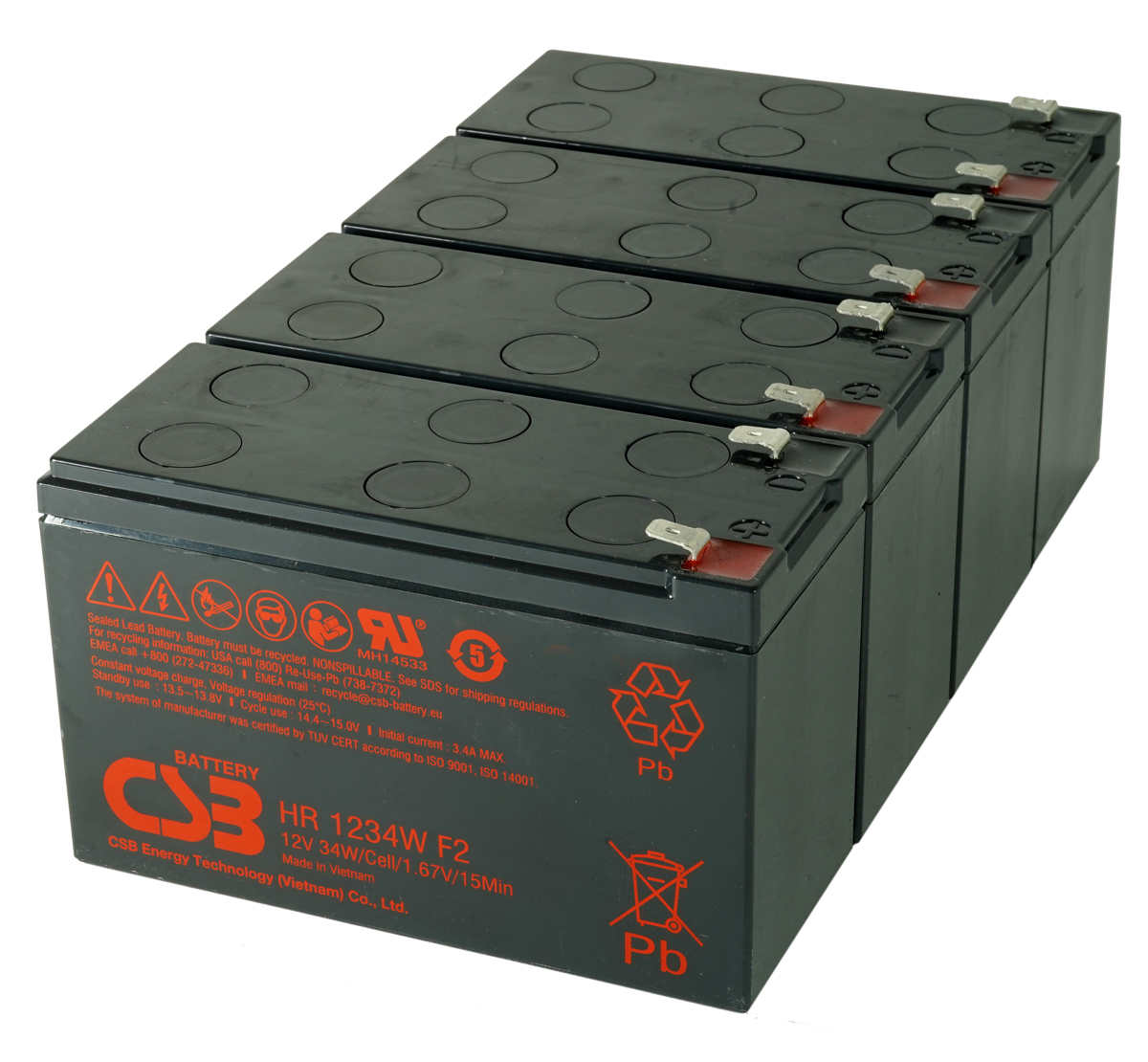 MDS2804 UPS Battery Kit for MGE AB2804
