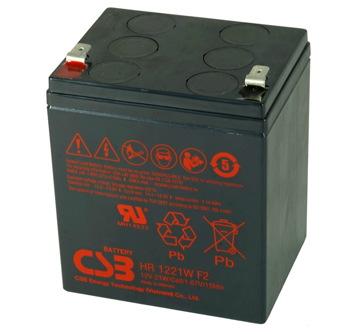 MDS30 UPS Battery Kit - Replaces APC RBC30