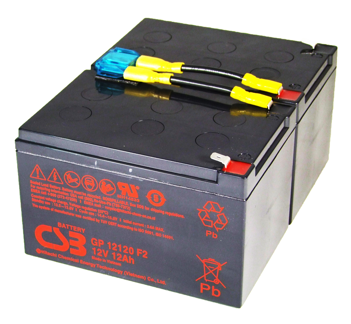 Apc Rbc6 Compatible Replacement Ups Battery For The Smart