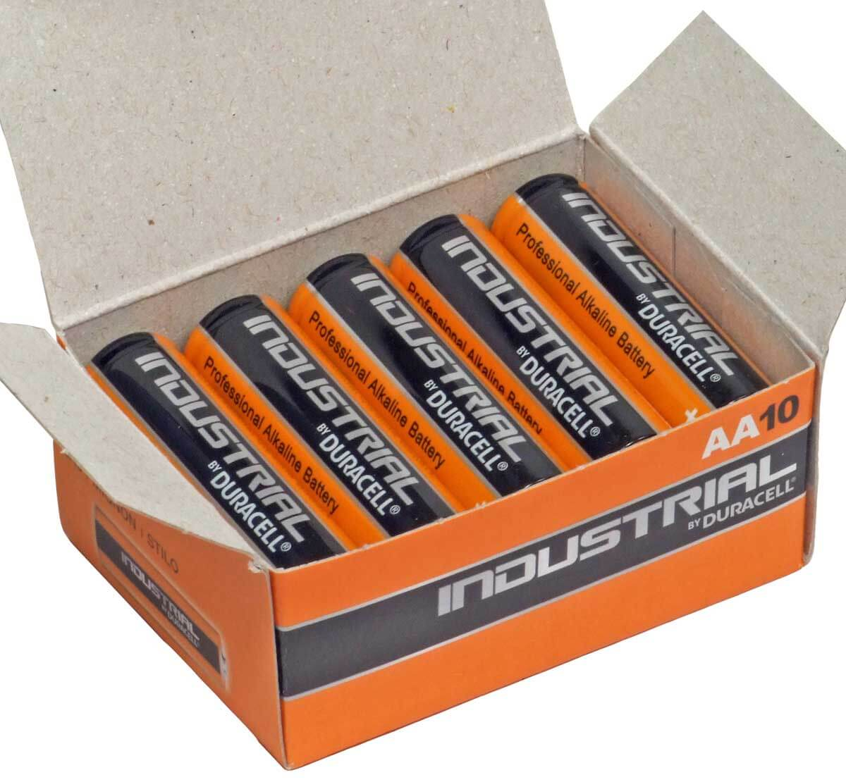 Duracell Industrial MN1500 AA Box of 10