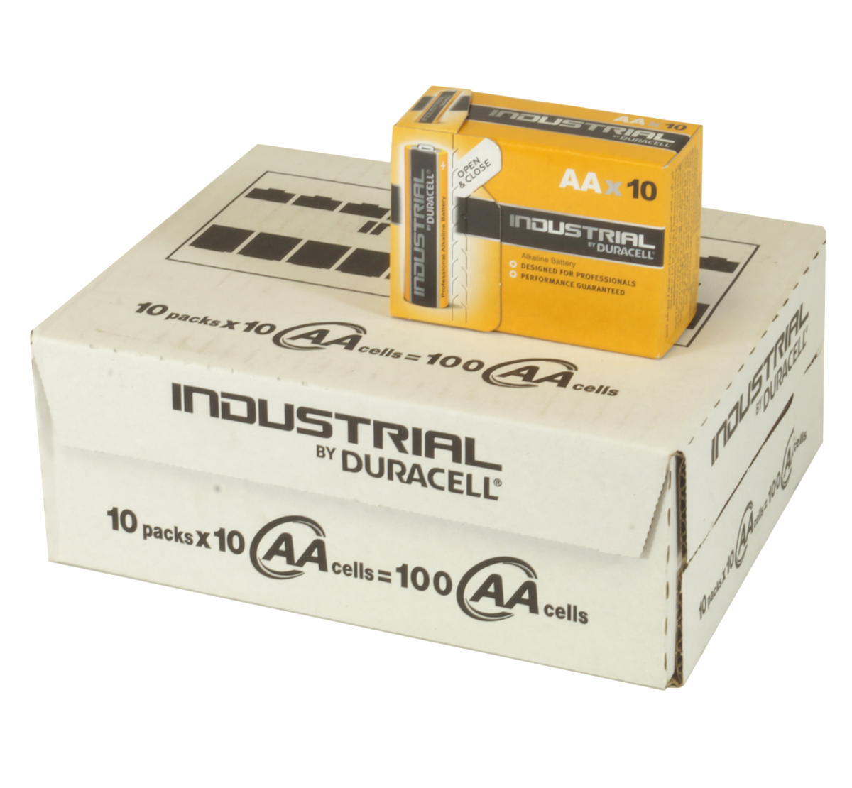 Duracell Industrial Mn1500 Aa Bulk Box Of 100 Batteries