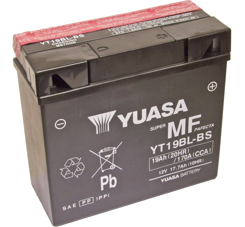 yuasa yt19bl bs bmw replacment motorcycle battery mds. Black Bedroom Furniture Sets. Home Design Ideas