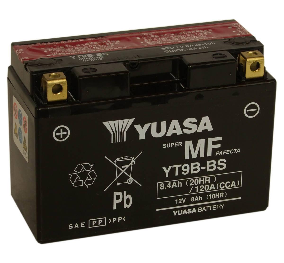Yt9b bs motorbike battery yamaha r6 motorcycle mds battery for Yamaha motorcycle batteries