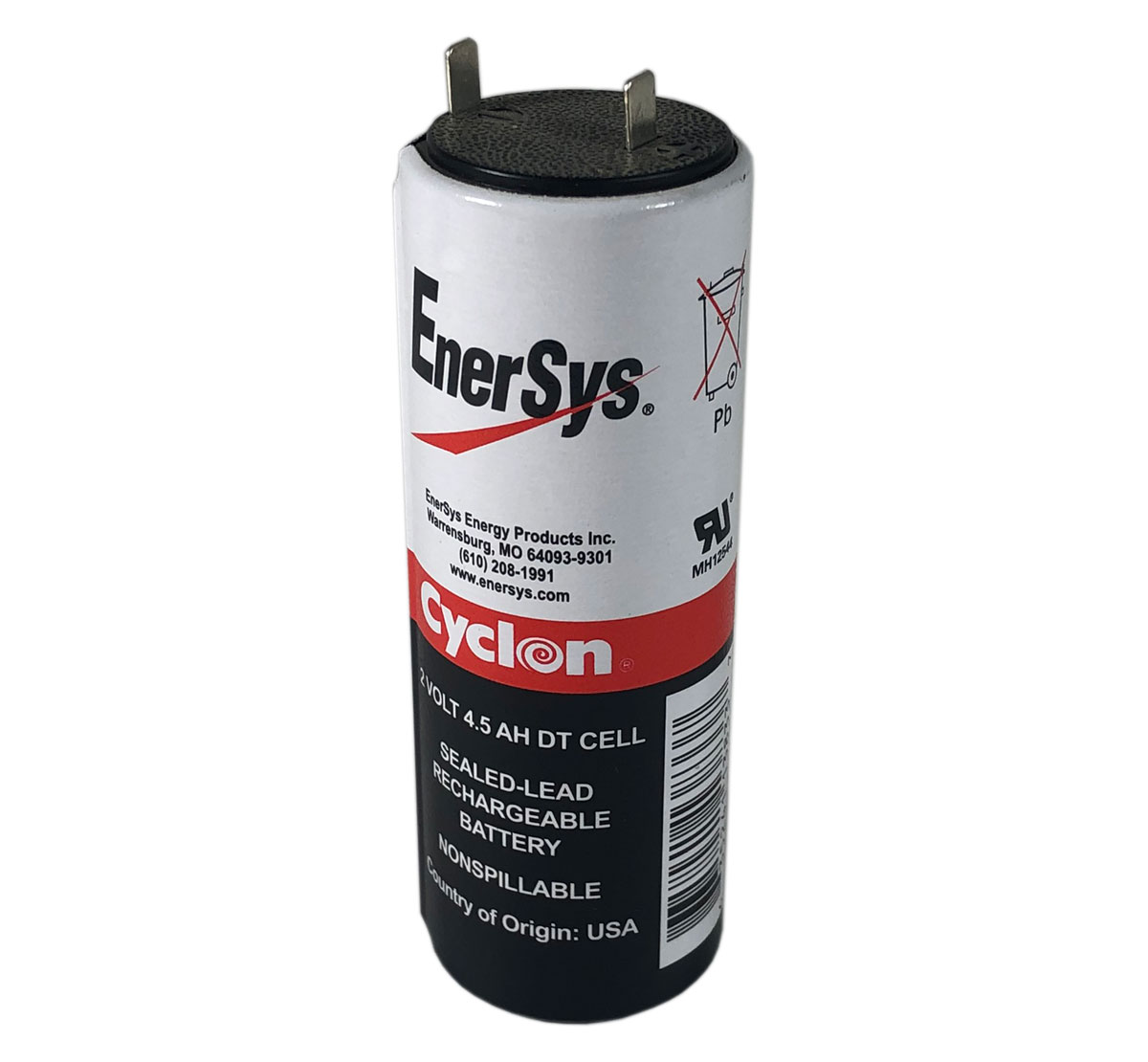 Hawker Energy 0860-0004  Cyclon 2V 4.5Ah DT Battery