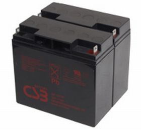 CSB GP12170B1B 12V 17Ah Sealed Lead Acid Battery (x2)