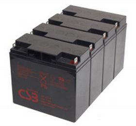 CSB GP12170B1B 12V 17Ah Sealed Lead Acid Battery (x4)