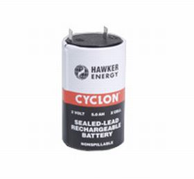 0800-0004 Hawker Energy Cyclon 5Ah X cell 2v