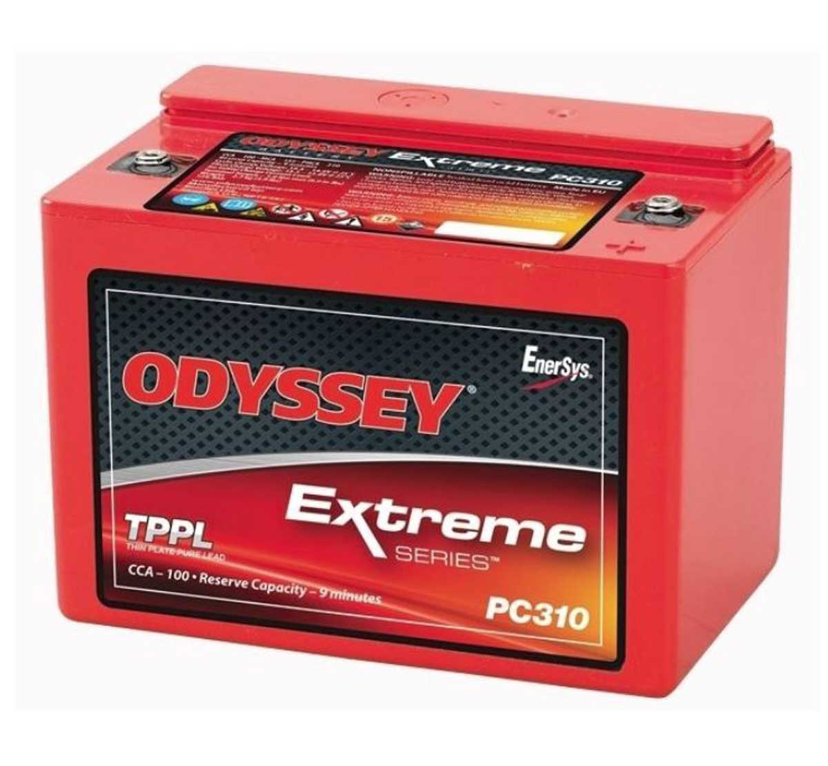 Odyssey PC310 Extreme Racing 8 Starter Battery