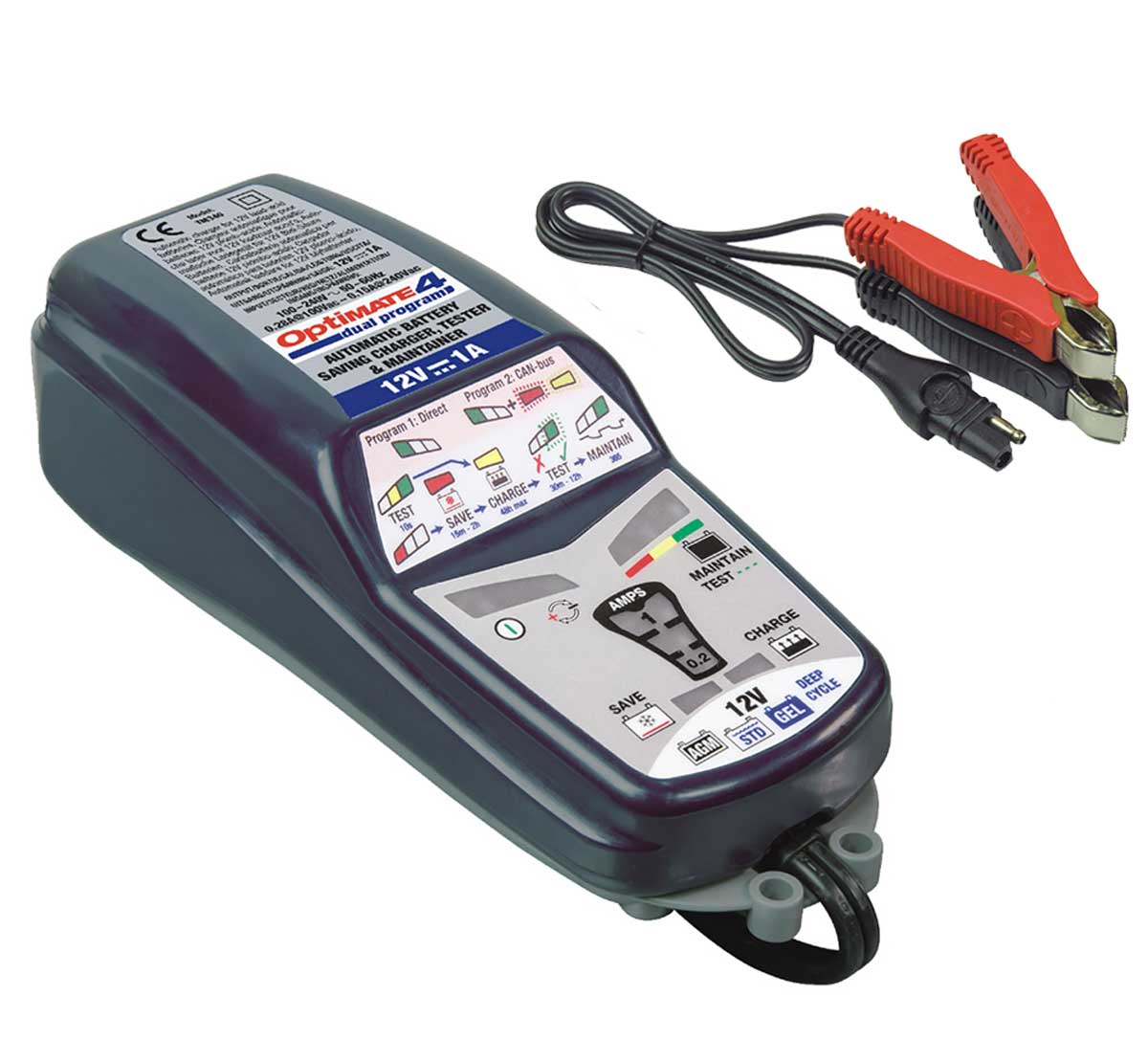 OptiMate 4D 12V Battery Charger CAN-bus TM-342
