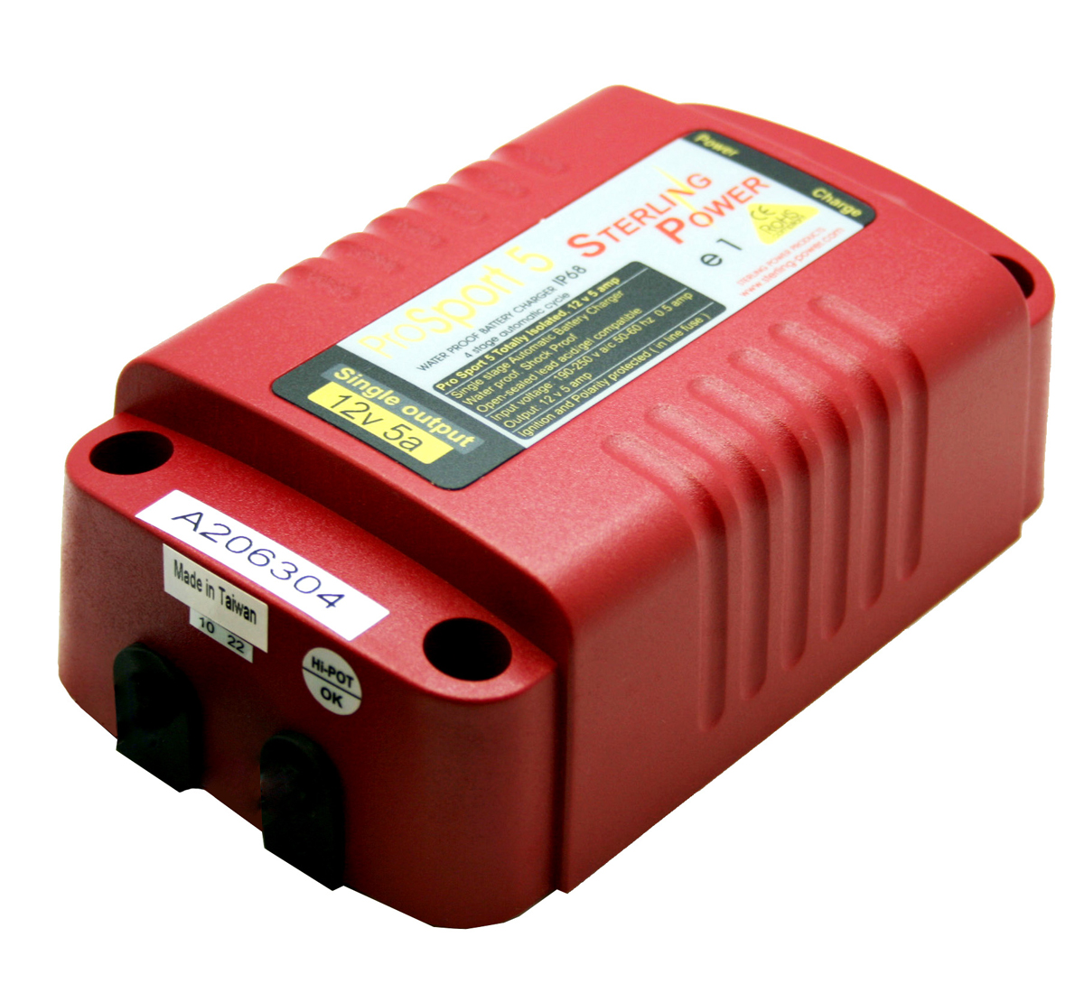 Sterling Power PS125 ProSport Waterproof  Battery Charger