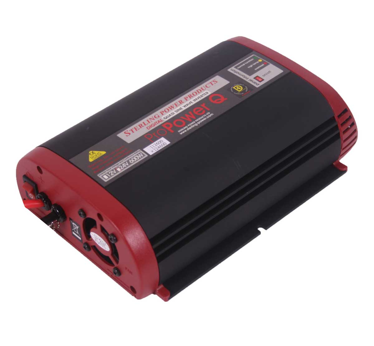 Sterling Power Pro Power Q 600W Quasi Sine Wave Inverter i12600