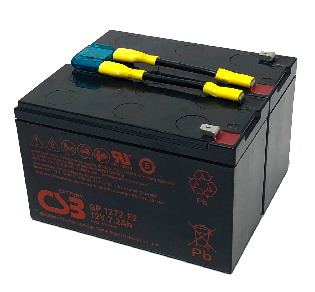 MDS9 UPS Battery Kit Compatible with APC RBC9