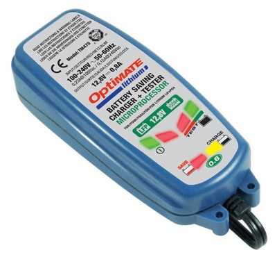 Optimate Lithium 0.8A 12V Battery Charger