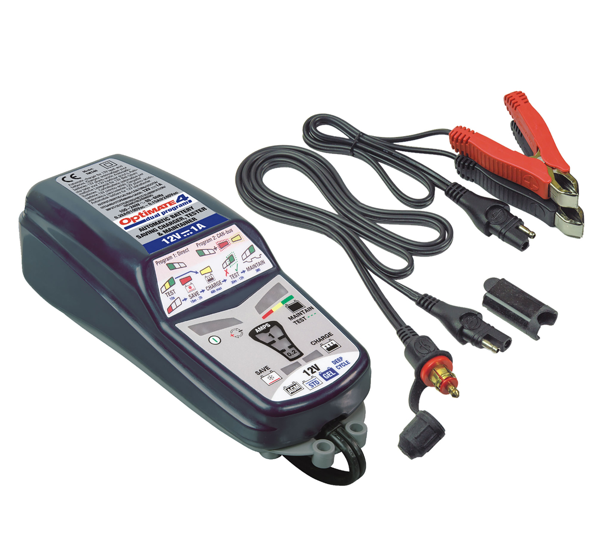 OptiMate 4D 12V Battery Charger CAN-bus TM-352