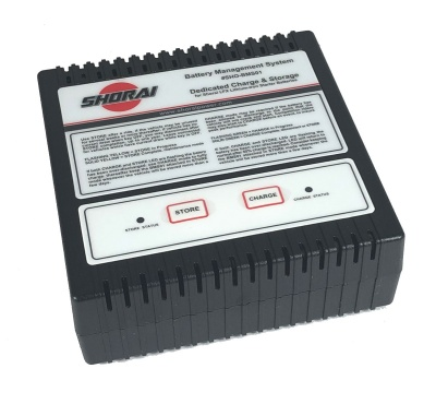 Shorai BMS01 Lithium Battery Charger 6V/12V