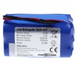 Ansmann Industrial 4S1P 14.8V 2600mAh Block Rechargeable Li-ion Battery Pack
