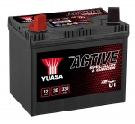 Yuasa YBX Active U1 Lawn Mower Battery