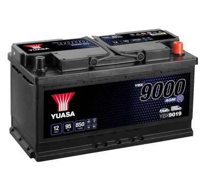 Yuasa YBX9019 AGM 12V 019 Car Battery